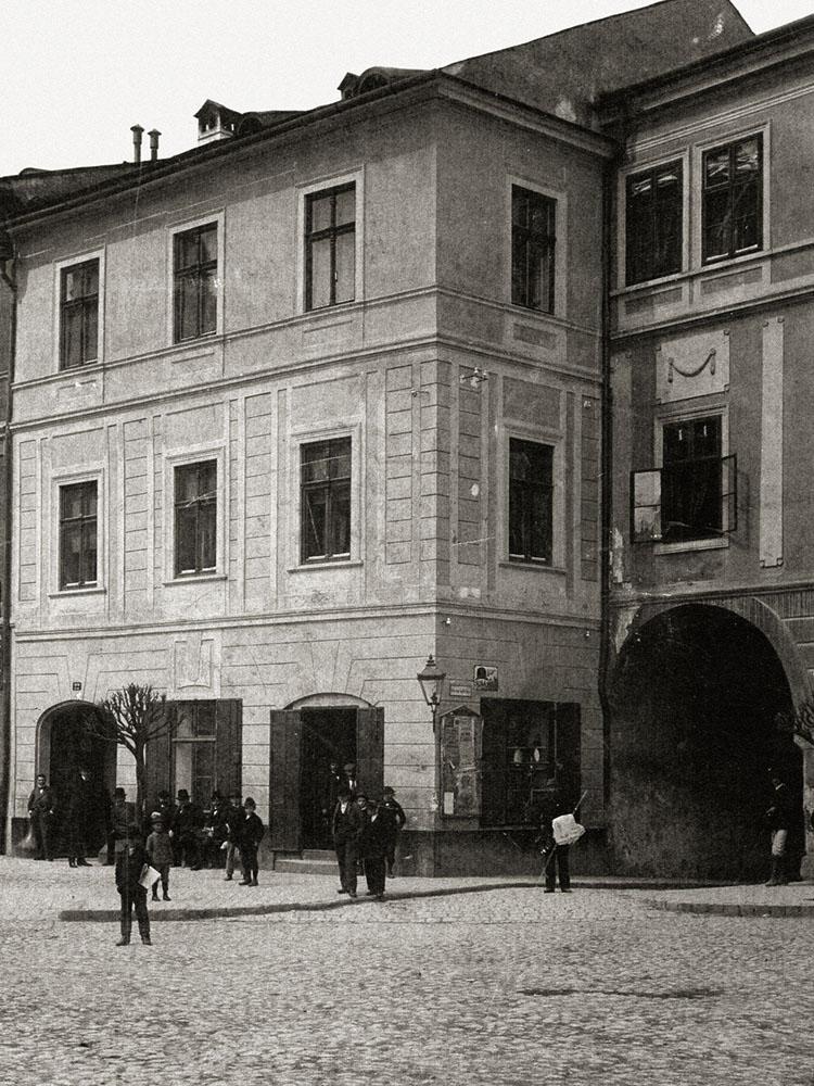 Fotka budovy Červený rak